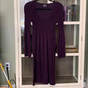 Angie purple dress
